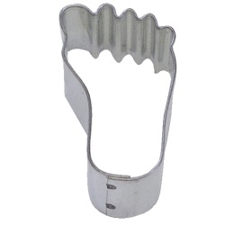 Foot Cookie Cutter - Mini LARGE