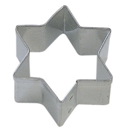 Star of David Cookie Cutter - Mini LARGE