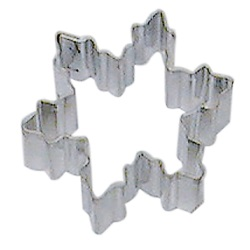 Snowflake Cookie Cutter - Mini LARGE