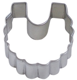 Baby Bib Cookie Cutter - Mini LARGE