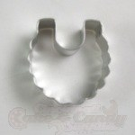 Baby Bib Cookie Cutter - Mini