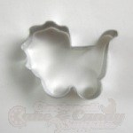 Baby Carriage Cookie Cutter - Mini_THUMBNAIL