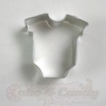 Baby Onesie Cookie Cutter - Mini