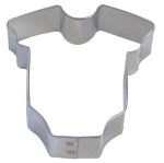 Baby Onesie Cookie Cutter - Mini THUMBNAIL