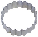 Round Cookie Cutter - Fluted THUMBNAIL