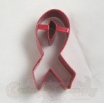 Awareness Ribbon Cookie Cutter - Red