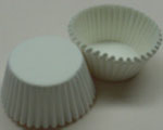 Jumbo Baking Cups - White - 500 Ct.