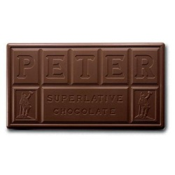 Peters Burgundy Semi-Sweet Chocolate - 1# LARGE