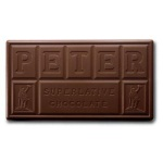 Peters Burgundy Semi-Sweet Chocolate - 1#