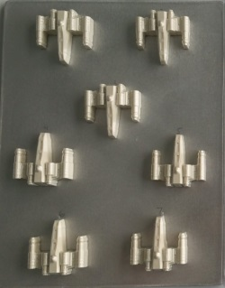 X-Wing Starfighter Chocolate Mold