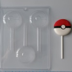 Pokeball Chocolate Sucker Mold THUMBNAIL