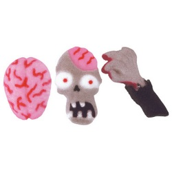 Zombie Attack Sugar Charms LARGE