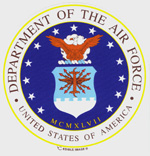 Edible Image - U. S. Air Force LARGE