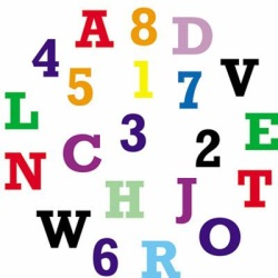 fmm Uppercase Alphabet & Number Cutter Set