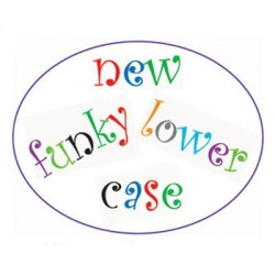 Alphabet Cutter Set - Funky - Lower Case LARGE