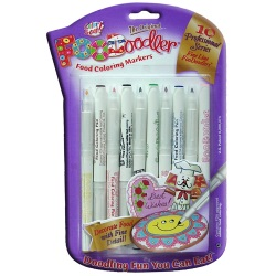 Foodoodler Food Coloring Markers - Fine Line LARGE