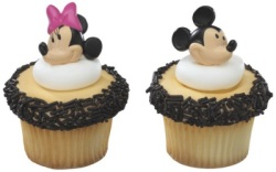 Mickey & Minnie Cupcake Rings LARGE