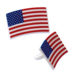 American Flag Rings LARGE