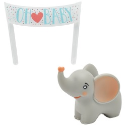 Oh Baby Elephant Cake Set LARGE