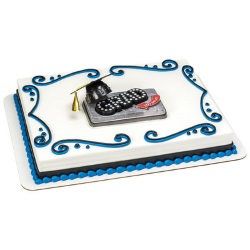 Graduation Marquee Cake Set LARGE