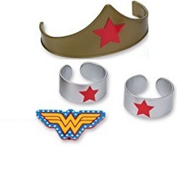Wonder Woman Cake Set THUMBNAIL