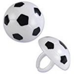 Soccer Ball Rings - 3D