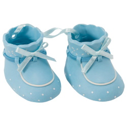 Baby Booties Set - Blue LARGE