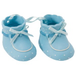 Baby Booties Set - Blue THUMBNAIL