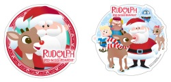 Rudolph & Friends Cake Top Decoration