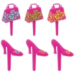 Animal Print Purse & Shoe Picks