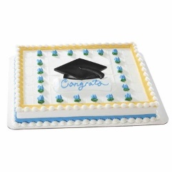 Grad Cap & Scroll Layon LARGE
