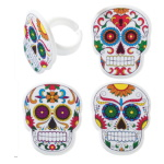 Skeleton Dia de Muertos Rings THUMBNAIL