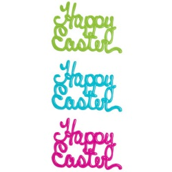 Happy Easter Script Layon LARGE