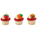 Autumn Harvest Cupcake Rings