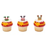 Whimsical Feet and Hats Cupcake Rings_THUMBNAIL