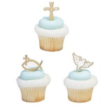 Spiritual Icons Cupcake Picks
