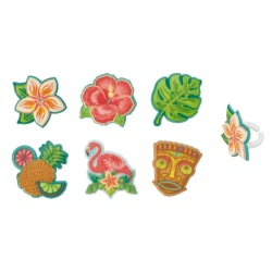 Polynesian Flair Cupcake Rings LARGE