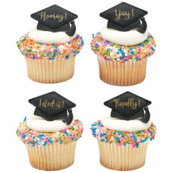 Grad Hats Sayings Rings LARGE