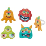 Eyeball Monsters Cupcake Rings THUMBNAIL