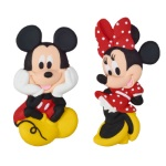 Minnie Mouse Gum Paste Layon THUMBNAIL