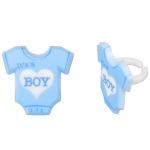 It's a Boy Onesie Rings