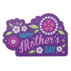 Mother's Day Flowers Plaque LARGE