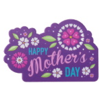 Mother's Day Flowers Plaque THUMBNAIL