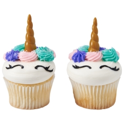 Unicorn Horn Cupcake Picks LARGE