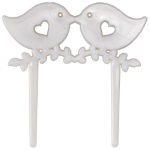 Love Birds Wedding Topper THUMBNAIL