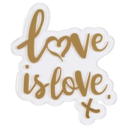 Love is Love Cake Topper LARGE