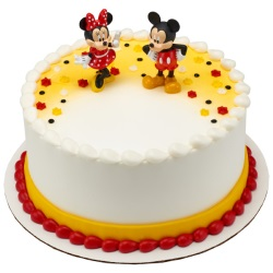 Mickey and Minnie Mouse Cake Set LARGE