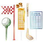 Golf Assortment Cake Kit THUMBNAIL