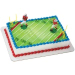 Touchdown Football Cake Set