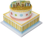 Safari Babies Cake Set